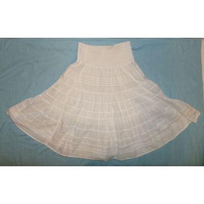 158-164-es fehér szoknya