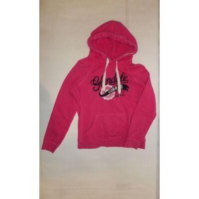 158-164-es rózsaszín feliratos pulóver - H&M