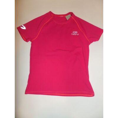 122-128-as pink sportpóló - Kalenji, Decathlon