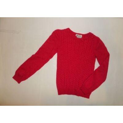122-128-as piros pulcsi - H&M