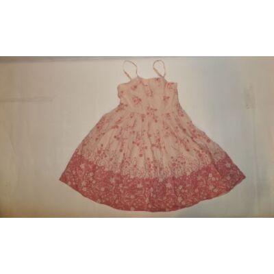 122-es rózsaszín virágos pántos ruha - Red Herring