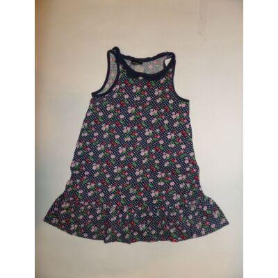 116-os kék virágos ujjatlan ruha - H&M