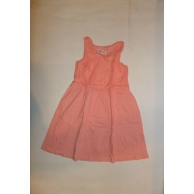 122-128-as rózsaszín csipkés ujjatlan ruha - H&M