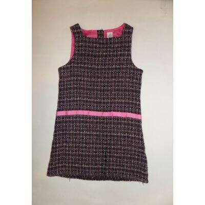 116-os fekete-rózsaszín ujjatlan ruha - Adams