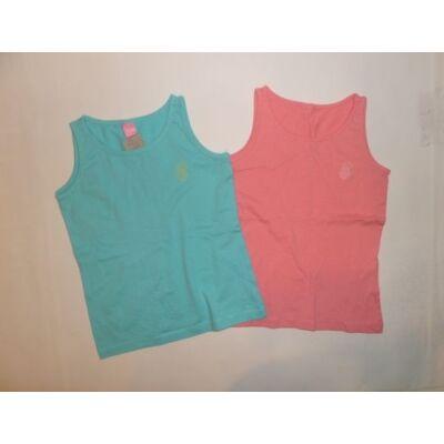 110-es kék és rózsaszín ujjatlan pólők, 2 db egyben - Dopodopo