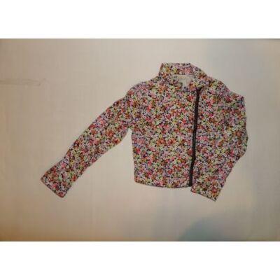 128-as virágos rövidállású átmeneti kabát - H&M