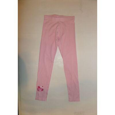 140-146-os rózsaszín leggings - Hello Kitty