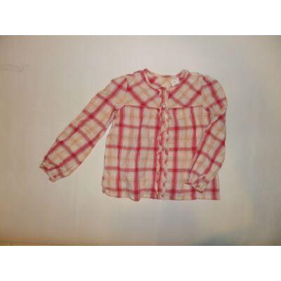 122-es piros kockás hosszúujjú blúz - Cherokee