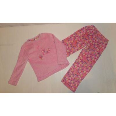 110-es rózsaszín vastag pizsama