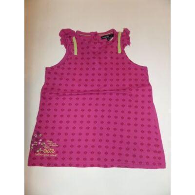 116-122-es pink ujjatlan póló - Marks & Spencer