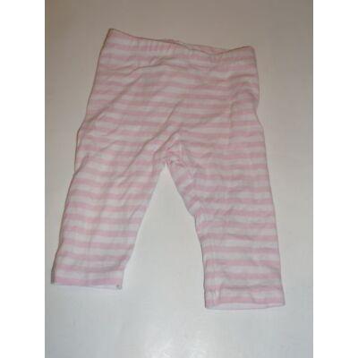 86-os csíkos leggings - H&M