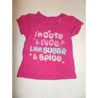 92-es pink feliratos póló