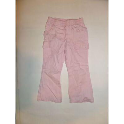 98-as rózsaszín gumis derekú nadrág