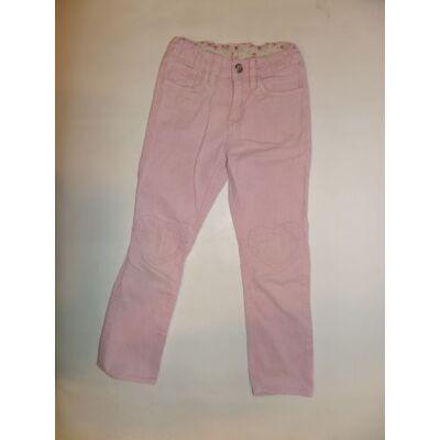 116-os rózsaszín kordnadrág - H&M