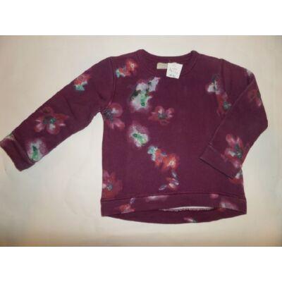 110-es lila mintás pulcsi - Zara