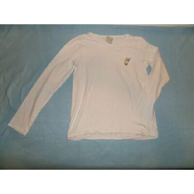 164-es fehér pillangós pamutfelső - Zara