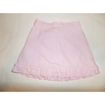 86-92-es rózsaszín kockás szoknya - TU