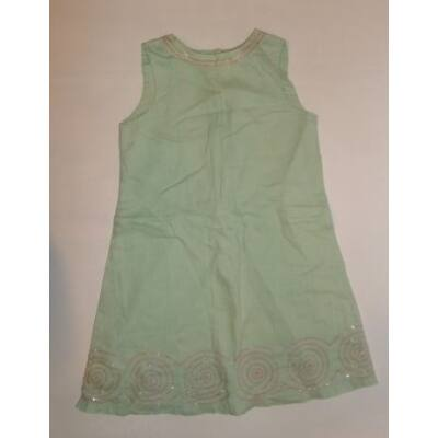 128-as zöld lenes ruha - Mini Boden