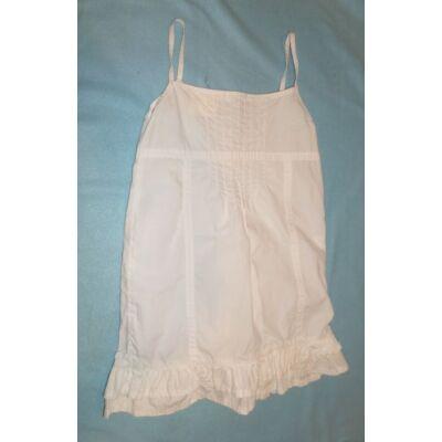 116-os fehér pántos ruha - C&A