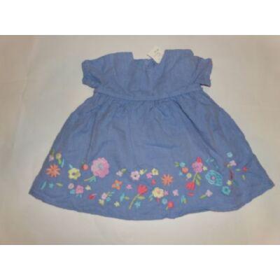 68-as kék virágos ruha