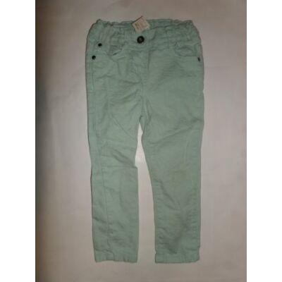 104-110-es zöld kislány nadrág - F&F