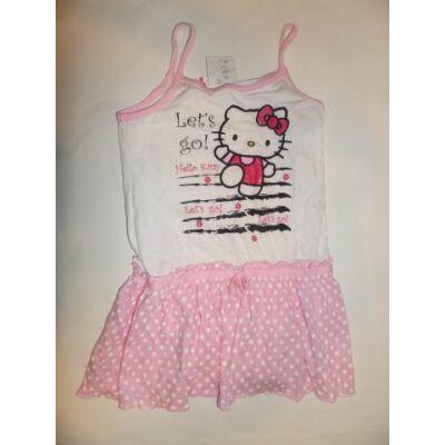 122-es spagettipántos pamut ruha - Hello Kitty