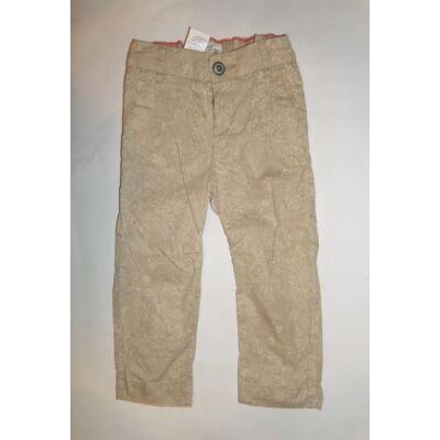 92-es drapp mintás lányka nadrág - H&M
