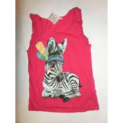 110-116-os zebrás ujjatlan póló - H&M