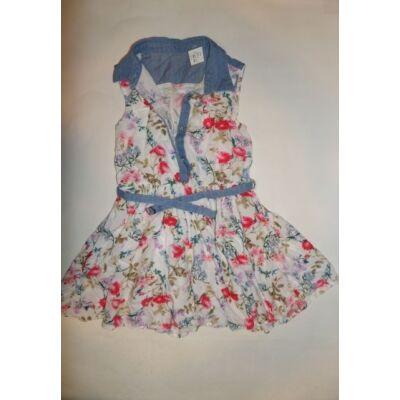 110-es virágos galléros nyári ruha - C&A