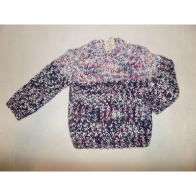 74-80-as kötött lányka pulcsi