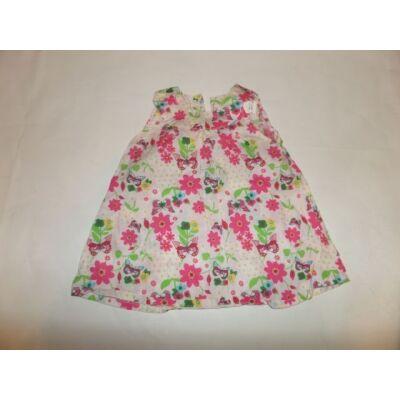 74-es lepkés-virágos nyári ruha  - H&M
