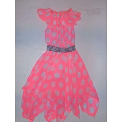 128-as pöttyös uv-színű nyári ruha