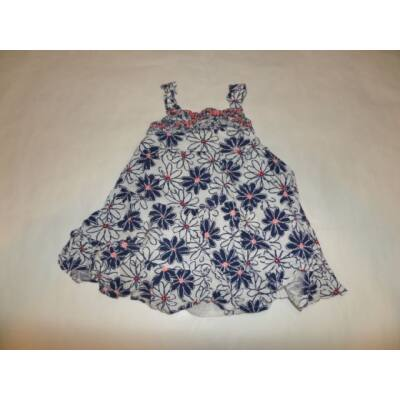 86-92-es virágos bőaljú ruha - George
