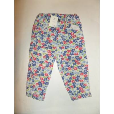 86-92-es virágos farmernadrág - Baby Boden
