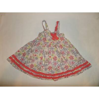92-98-as virágos nyári ruha - Miniclub