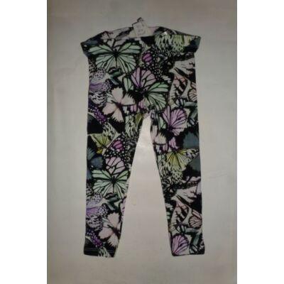 92-es fekete pillangós leggings - H&M