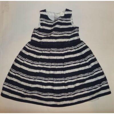 104-es kék-fehér csíkos nyári ruha - F&F