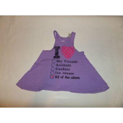 110-es lila tunika jellegű póló - C&A