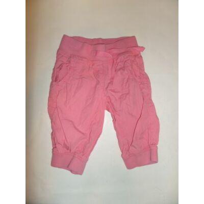 110-es rózsaszín vászon térdnadrág - Next
