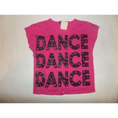 122-128-as pink feliratos póló - George