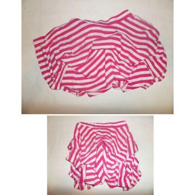122-es rózsaszín csíkos szoknya