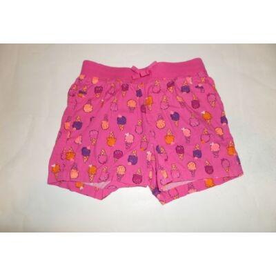 122-es rózsaszín fagyis short