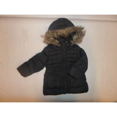 92-es szőrmés kapucnis télikabát - H&M
