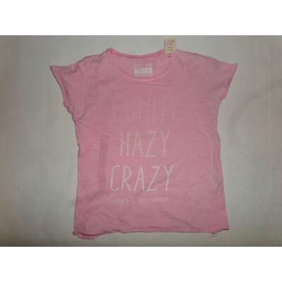 116-os rózsaszín feliratos póló - Reserved