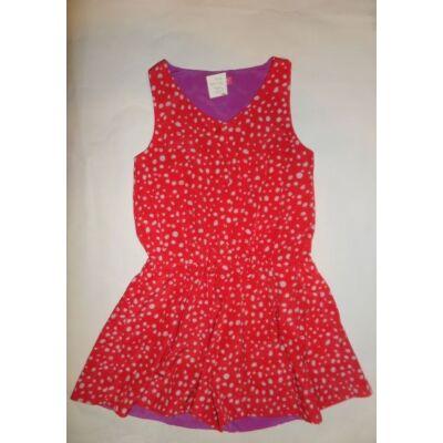 140-es piros pöttyös ujjatlan ruha - Next