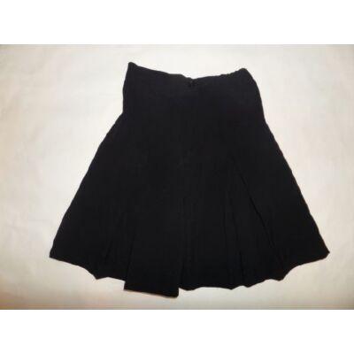 128-134-es fekete alkalmi nadrágszoknya - Pex