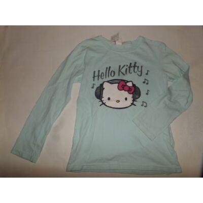 146-os világoskék pamutfelső - Hello Kitty