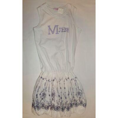 152-es hímzett aljú fehér ruha