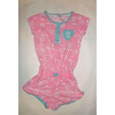 128-as rózsaszín feliratos playsuit - One Direction