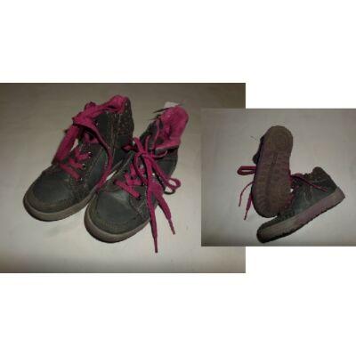 29-es szürke-pink magasszárú cipő - S. Oliver
